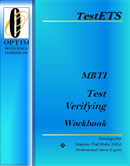 MBTI Test Verifying Workbook a Career Personality test clarity manual
