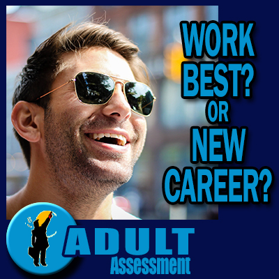 Adult Assessment - Work Best or New Career - What do i do now