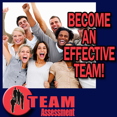 Team Assessment - Become an effective team