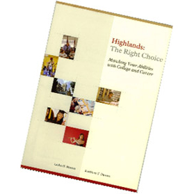 Career Books for Career Tests - Highlands the right choice